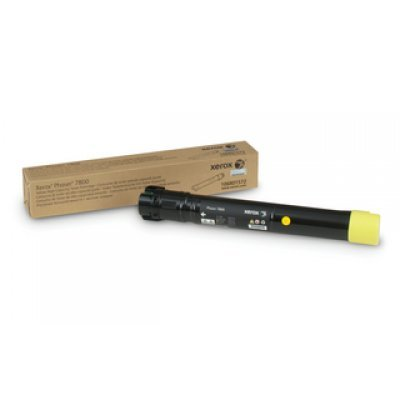 Тонер Картридж Phaser 7800 Желтый повышенной емкости (17 200 страниц) (106R01572)Тонер-картриджи для лазерных аппаратов Xerox<br>Тонер картридж желтый на 17 200 страниц для Phaser 7800 повышенной емкости<br>