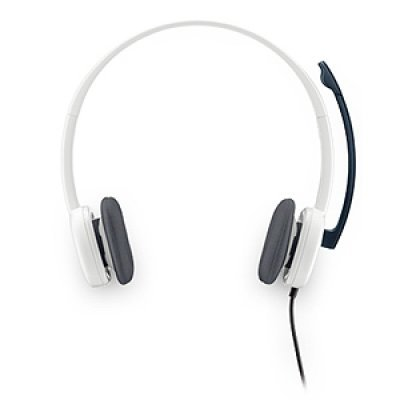 все цены на Компьютерная гарнитура Logitech Stereo Headset H150 (981-000350) онлайн