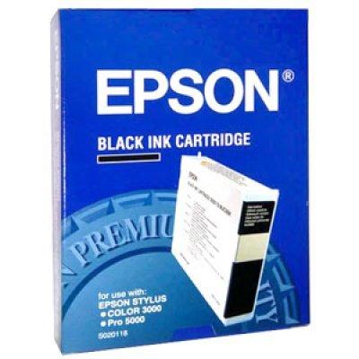 Картридж (C13S020118) EPSON для Stylus-Color 3000/Pro 5000 черный (C13S020118)Картриджи для струйных аппаратов Epson<br>подходит к Stylus-Color 3000/Pro 5000<br>
