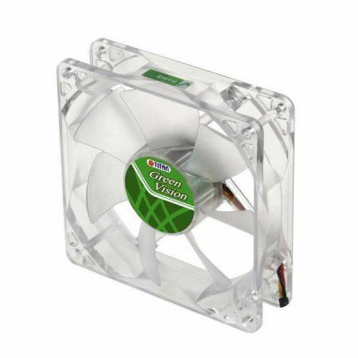 Вентилятор для корпуса Titan TFD-8025GT12Z 80x80x25mm Z-bearing 1400RPM 3pin (TFD-8025GT12Z)