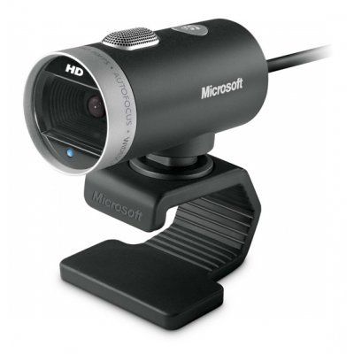 Веб-камера Microsoft LifeCam Cinema (6CH-00002) (6CH-00002)Веб-камеры Microsoft<br>Microsoft LifeCam Cinema, 720p HD(1280x720), USB, [For Business]<br>