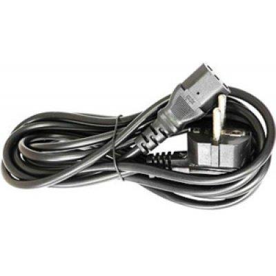 Кабель питания Gembird 5.0м, черный, с зазем. (PC-186-15)Кабели сетевые Gembird<br>Силовой кабель для подключения различных устройств к сети переменного тока напряжением 220 B. Заземлённая вилка (евростандарт). Технические характеристики Тип вилки евро Тип розетки IEC-320 Длина 5 м<br>