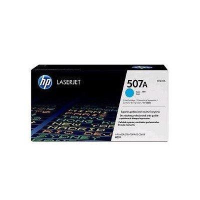 Картридж с тонером HP 507A LaserJet (CE401A) (CE401A)Тонер-картриджи для лазерных аппаратов HP<br>Картридж с тонером HP 507A LaserJet, голубой для CLJ Color M551 series<br>