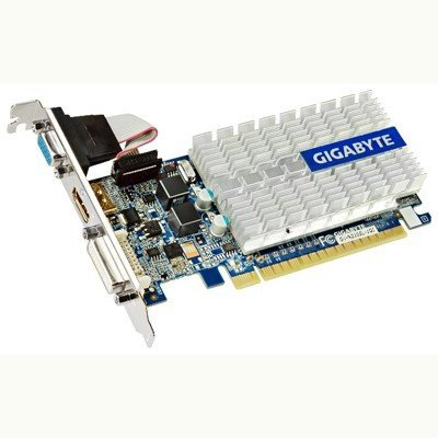 Видеокарта 1024Mb Gigabyte NVIDIA GeForce 210 PCI-E (GV-N210SL-1GI) (GV-N210SL-1GI) лоферы allora allora mp002xw1ap35