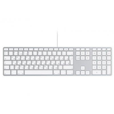Клавиатура Apple Keyboard with Numeric Keypad (MB110RS/B) numeric keypad 19 keys