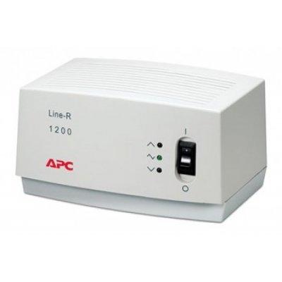 Стабилизатор напряжения APC Line-R 1200VA 230V 3x Schuko Outlets (LE1200-RS) (LE1200-RS)Стабилизаторы напряжения APC<br>APC Line-R 1200VA Automatic Voltage Regulator, 3x Schuko Outlets, 2m Power Cord, 230V<br>