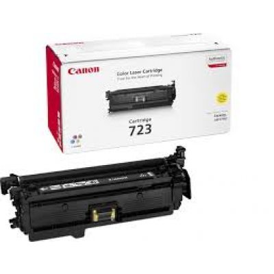 Картридж Canon 723 Yellow (2641B002) (2641B002)Тонер-картриджи для лазерных аппаратов Canon<br>Тонер картридж Canon 723 Yellow 2641B002 для Canon i-SENSYS LBP-7750Cdn (8 500 стр)<br>