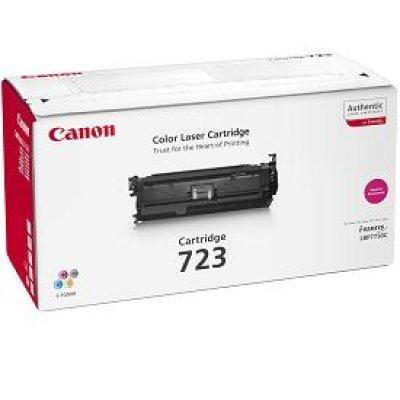 Картридж Canon 723 (2642B002) пурпурный (2642B002)Тонер-картриджи для лазерных аппаратов Canon<br>Тонер картридж Canon 723 Magenta 2642B002 для Canon i-SENSYS LBP-7750Cdn (8 500 стр)<br>