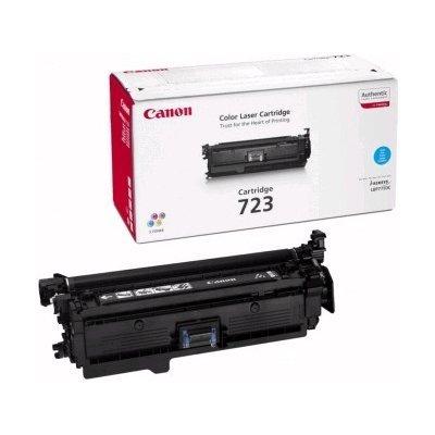 Картридж Canon 723 Cyan (2643B002) (2643B002)Тонер-картриджи для лазерных аппаратов Canon<br>Тонер картридж Canon 723 Cyan 2643B002 для Canon i-SENSYS LBP-7750Cdn (8 500 стр)<br>