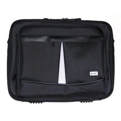 Сумка для ноутбука KREZ L16-202B черный (L16-202B)Сумки для ноутбуков KREZ<br>сумка<br>для 16 ноутбуков<br>из синтетических материалов<br>отделение-органайзер<br>водонепроницаемый материал<br>
