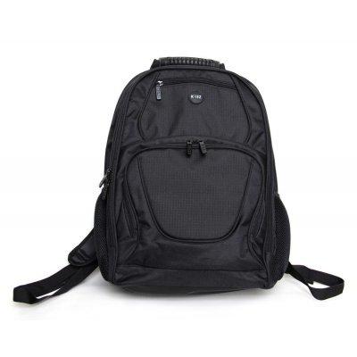 Рюкзак для ноутбука KREZ L16-502B черный (L16-502B)Рюкзаки для ноутбуков KREZ<br>рюкзак<br>для 16 ноутбуков<br>из синтетических материалов<br>отделение-органайзер<br>карман для бутылки<br>водонепроницаемый материал<br>