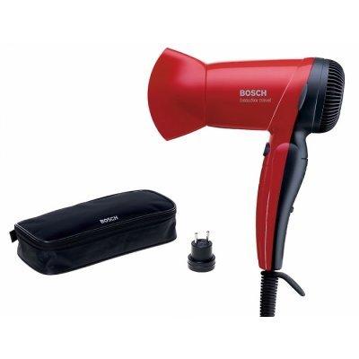 Фен Bosch PHD1150 красный (PHD1150)Фены Bosch<br>компактный фен, мощность 1200 Вт, складная ручка, скоростей: 2<br>