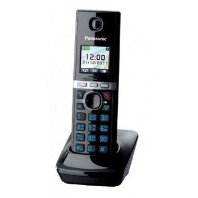 Дополнительная радиотрубка Panasonic KX-TGA806RUB черный (KX-TGA806RUB)Радиотелефоны Panasonic<br>трубка к телефонам серии KX-TG806x<br>