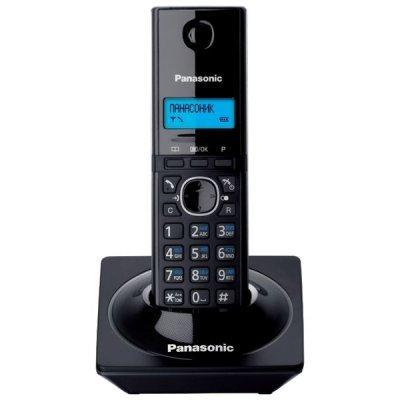 Радиотелефон Panasonic KX-TG1711 черный (KX-TG1711RUB)