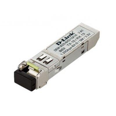 Трансивер D-Link DEM-302S-BXD/10, 1-port mini-GBIC 1000Base-BX (DEM-302S-BXD/10)