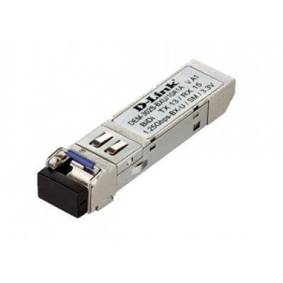 Трансивер D-Link DEM-302S-BXU/10, 1-port mini-GBIC 1000Base-BX (DEM-302S-BXU/10)