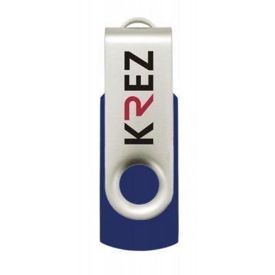 USB накопитель 16Gb KREZ 401 голубой (KREZ401L16)