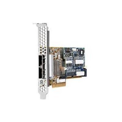 Контроллер HP SAS Smart Array (631674-B21) (631674-B21)Контроллеры Smart Array HP<br>HP SAS Controller Smart Array P421/2GB FBWC/6Gb/2-port Ext(SFF8088)x8wide/PCI-E 3.0/LP FF, no incl. brckts<br>