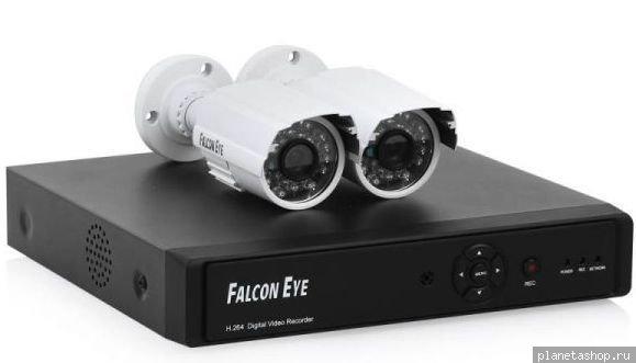 Комплекты видеонаблюдения falcon eye