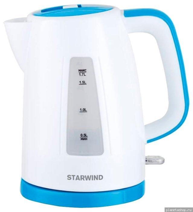 голубой чайник для газовой плиты