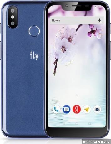 bd7662a8d9d7a Смартфон Fly View Max 2/16Gb Blue (Синий) купить - низкая цена ...