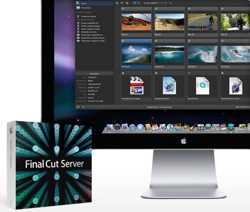 Новая версия Apple Final Cut Server