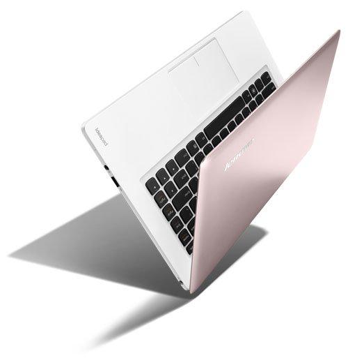14-дюмовый ноутбук U410, розовый
