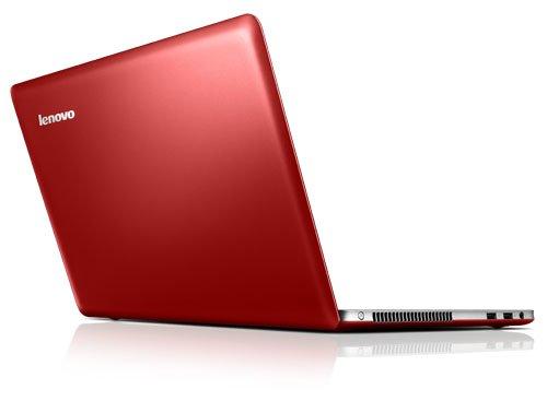 14-дюмовый ноутбук U410, красный