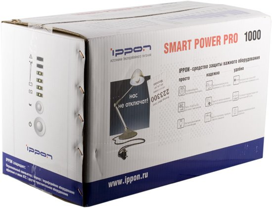 упаковка IPPON Smart Power Pro 1000