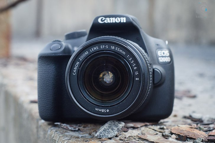 ����� Canon EOS 1200D - ������� ����� EF-S 18-55mm f/3.5-5.6 IS II