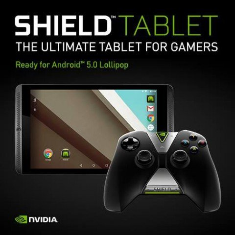 NVIDIA Shield Tablet вскоре получит Android 5.0 Lollipop