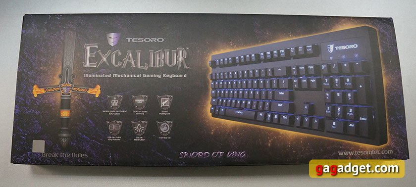 ����� ������������ ���������� ���������� ������ Tesoro Excalibur Red Switch-2