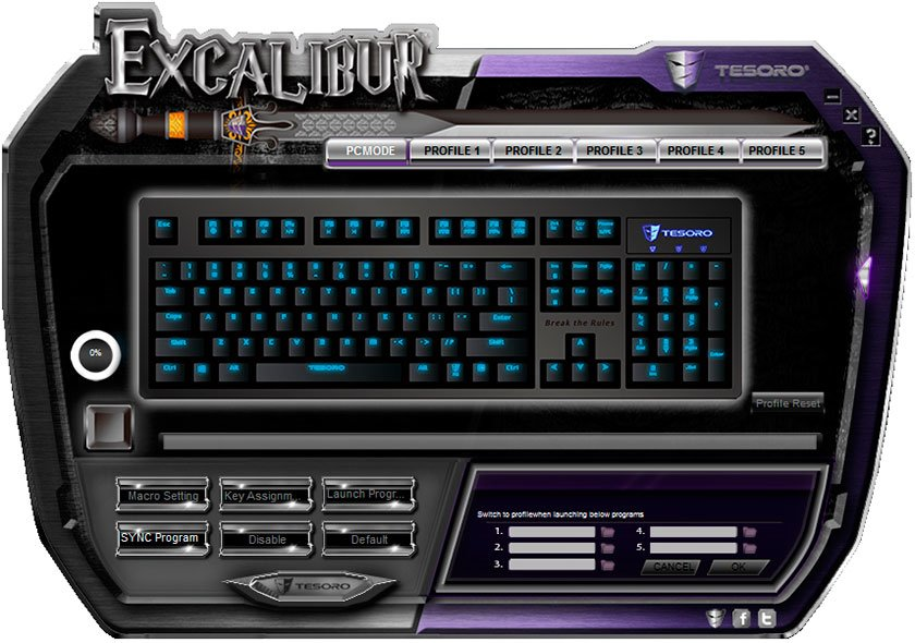 ����� ������������ ���������� ���������� ������ Tesoro Excalibur Red Switch-10