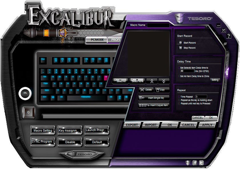 ����� ������������ ���������� ���������� ������ Tesoro Excalibur Red Switch-12