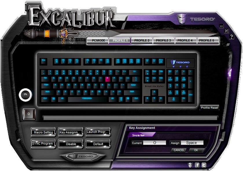 ����� ������������ ���������� ���������� ������ Tesoro Excalibur Red Switch-13